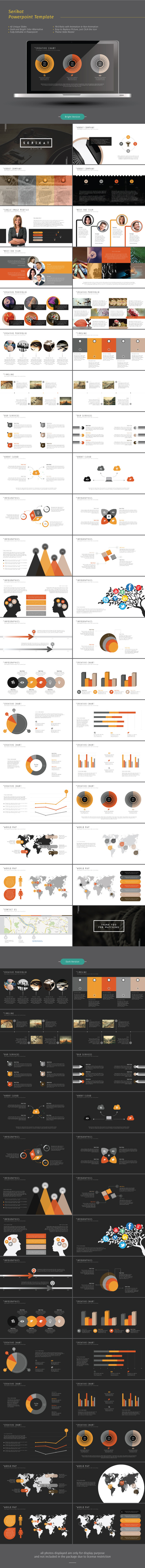 GraphicRiver Serikat Powerpoint Template 9807995