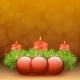 Advent Wreath of Twigs with Red Candles  - GraphicRiver Item for Sale