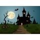 Scary Halloween Background Scene  - GraphicRiver Item for Sale