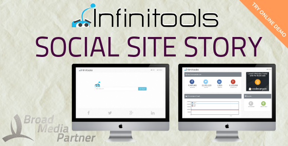 Social Site Story - InfiniTools