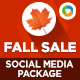 Fall Sale Social Media Graphic Pack - GraphicRiver Item for Sale
