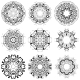 Composition with Beautiful Circular Patterns - GraphicRiver Item for Sale