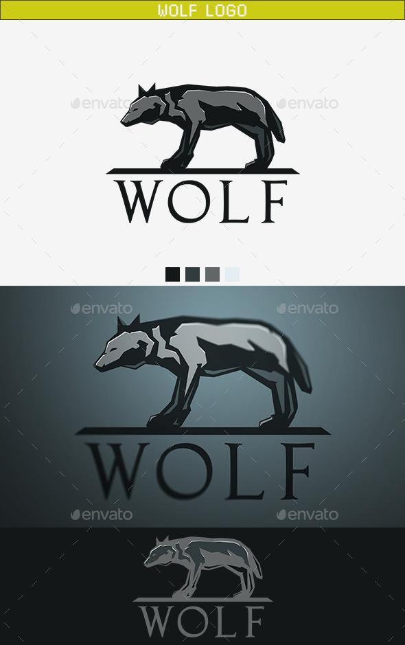 GraphicRiver Wolf Logo 9740711
