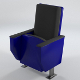 Low poly Cinema / Theater Armchair (UV-unwrapped) - 3DOcean Item for Sale