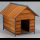 Low Poly Doghouse (Gardens, Parks, Game Asset) - 3DOcean Item for Sale