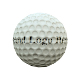 Low poly golf ball (uv layout, diffuse, normal, oc - 3DOcean Item for Sale