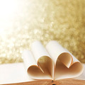 Heart shaped book pages - PhotoDune Item for Sale