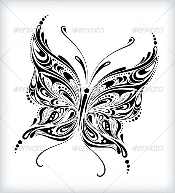 GraphicRiver Abstract butterfly design 124660