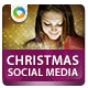 Christmas Gift Social Media Pack - GraphicRiver Item for Sale