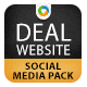 Deal Website Social Media Graphic Pack - GraphicRiver Item for Sale