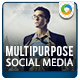 Multi Purpose Social Media Graphic Pack - GraphicRiver Item for Sale