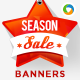 Season Sale Banners - GraphicRiver Item for Sale