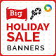 Holiday Sale Banner Design Set - GraphicRiver Item for Sale