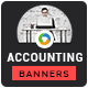 Accounting Firm Banners - GraphicRiver Item for Sale