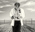 Handsome Blonde Male Photographer Outdoors - PhotoDune Item for Sale