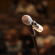 Microphone on Stage - VideoHive Item for Sale