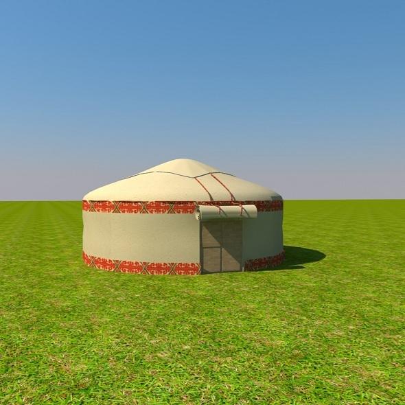 Yurta - 3DOcean Item for Sale