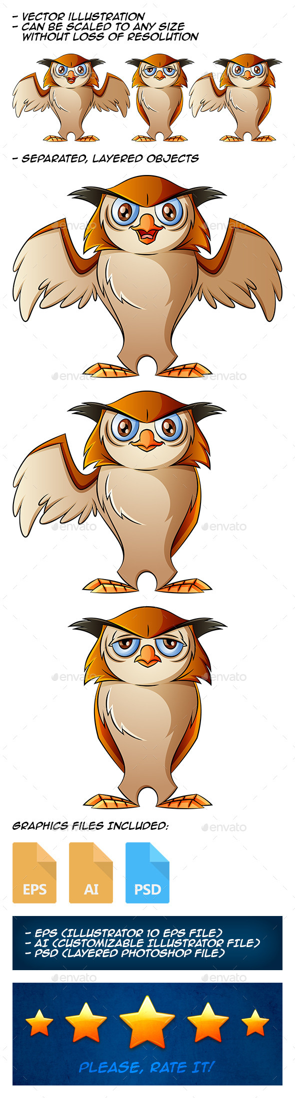 GraphicRiver Owl 9810981