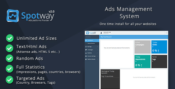 CodeCanyon Ads Management System for Banners & Html 9810992