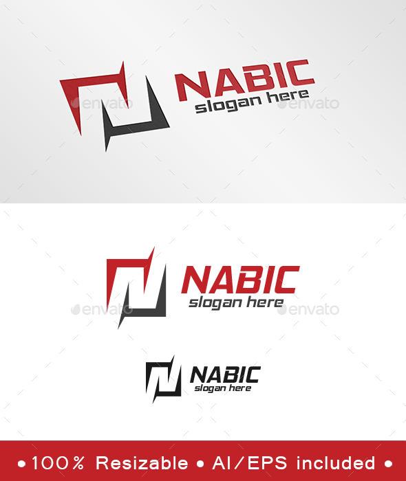 GraphicRiver Letter N Nabic Logo 9811999