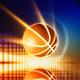 Glowing basketball - PhotoDune Item for Sale
