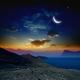 Sunrise with moon - PhotoDune Item for Sale