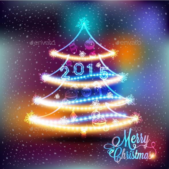 GraphicRiver Christmas Tree 9812430