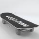Skateboard (UV-unwrapped) - 3DOcean Item for Sale