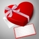 Red Heart Shape Box - GraphicRiver Item for Sale