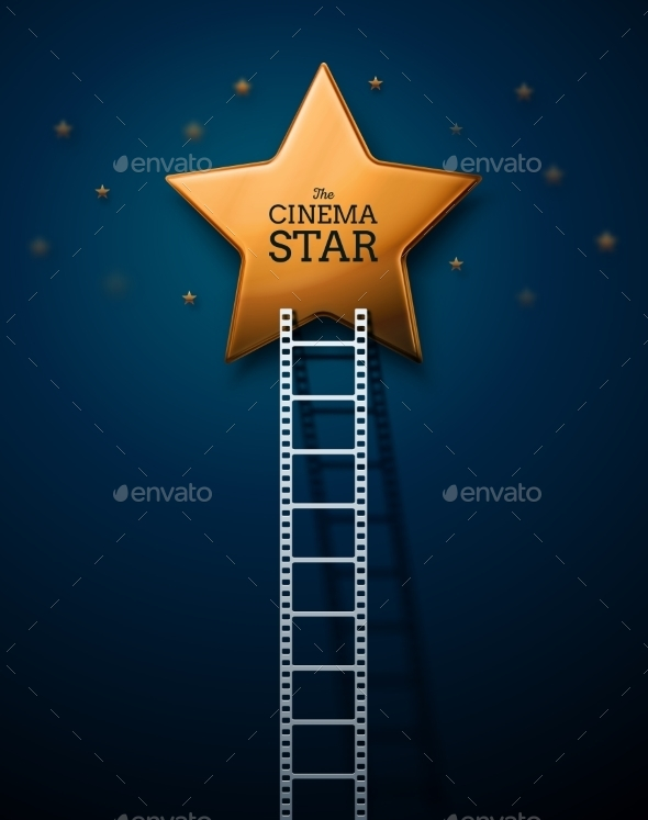 GraphicRiver Way to the Stars of Cinema 9812445