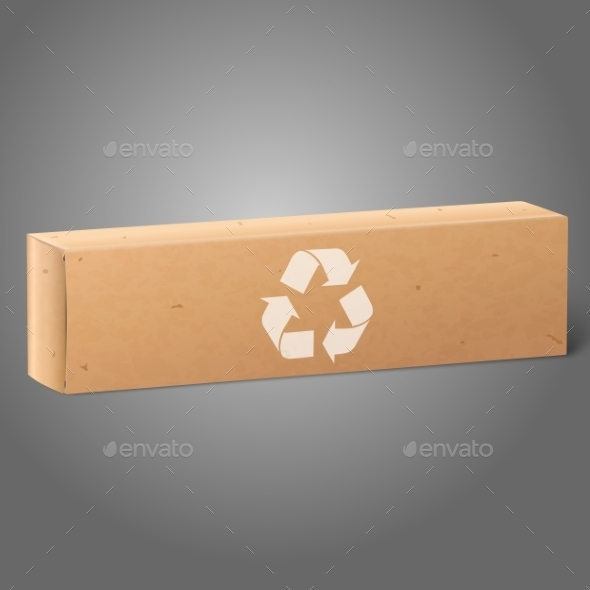 GraphicRiver Oblong Paper Package Box 9812497