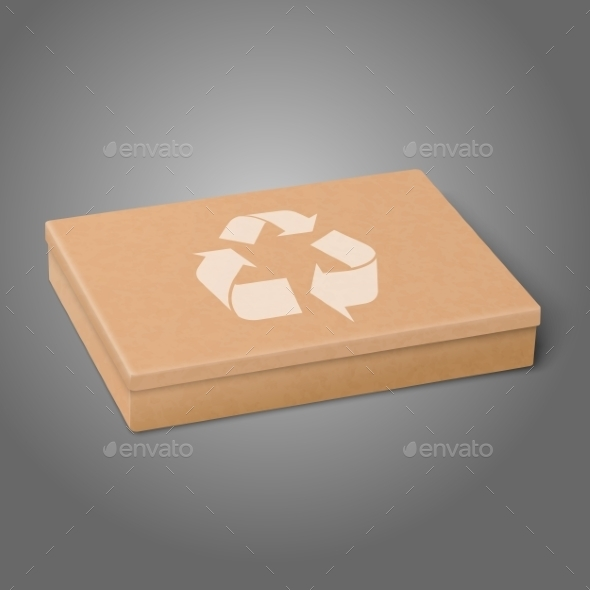 GraphicRiver Flat Package Box 9812499