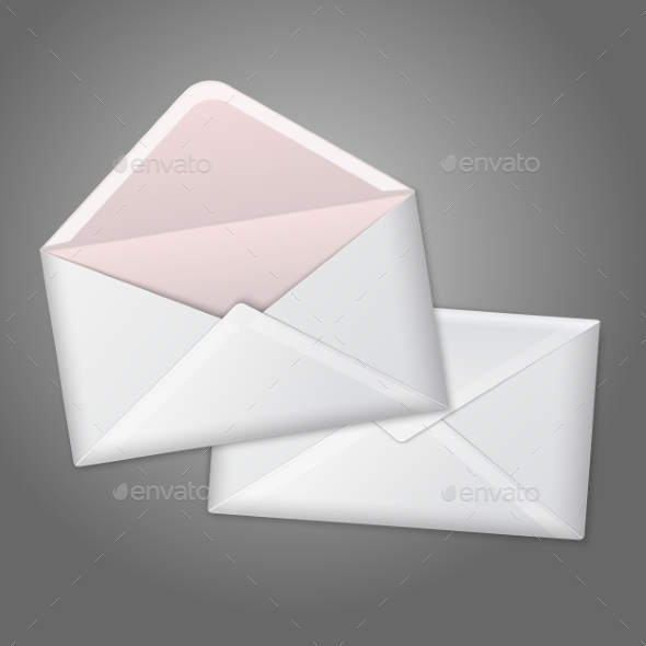 GraphicRiver Open and Closed Envelope 9812501