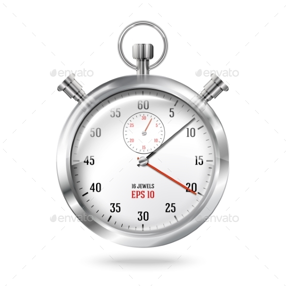 GraphicRiver Stopwatch Clock 9812511