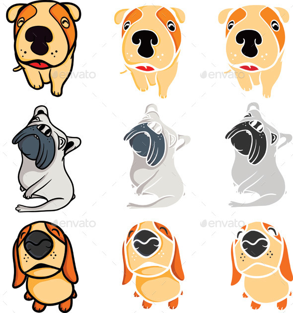GraphicRiver Puppy Dogs 9813462