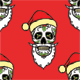 Christmas Skull Pattern - GraphicRiver Item for Sale