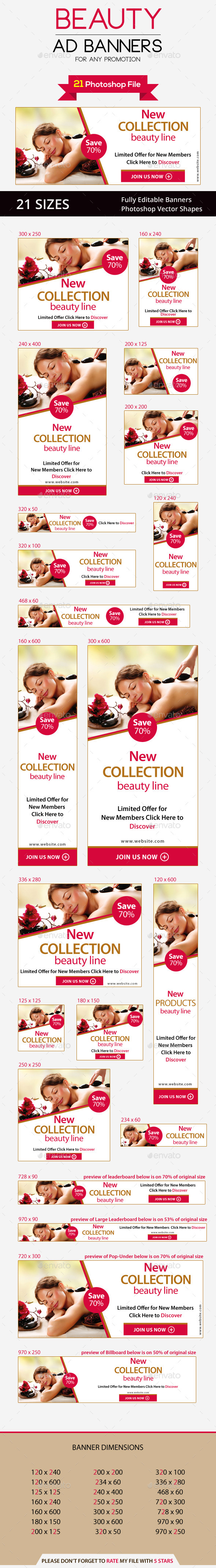 GraphicRiver Beauty Ad Banners 9813534