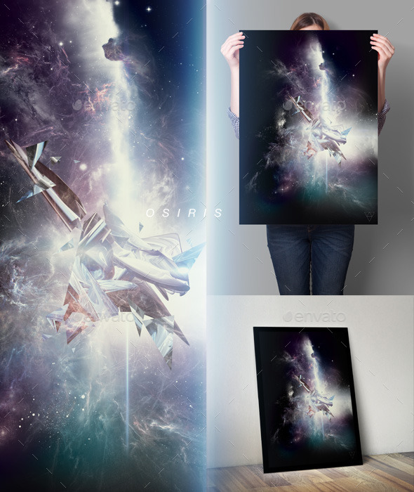 Osiris Space Art Series Poster