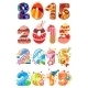 Childrens Party 2015 Numbers - GraphicRiver Item for Sale