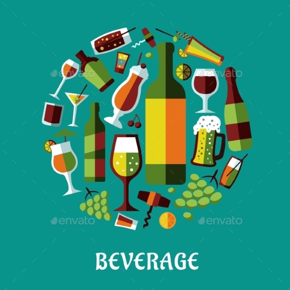 GraphicRiver Beverage Elements 9813712