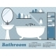 Bathroom Infographic - GraphicRiver Item for Sale