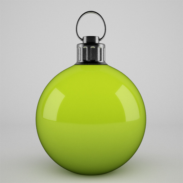 3DOcean Christmal Ball 4 VrayC4D 9813934