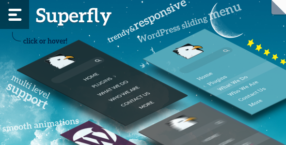 Superfly — Responsive WordPress Menu Plugin - CodeCanyon Item for Sale