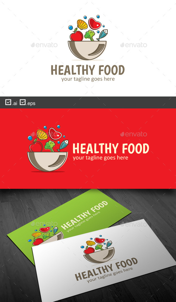 GraphicRiver Healthy Food 9743521