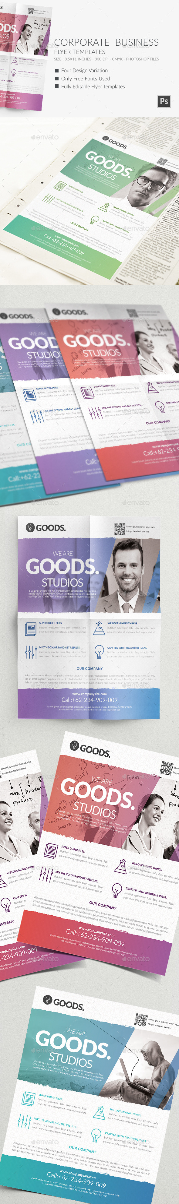 GraphicRiver Corporate Business Flyer Templates 2 9814653