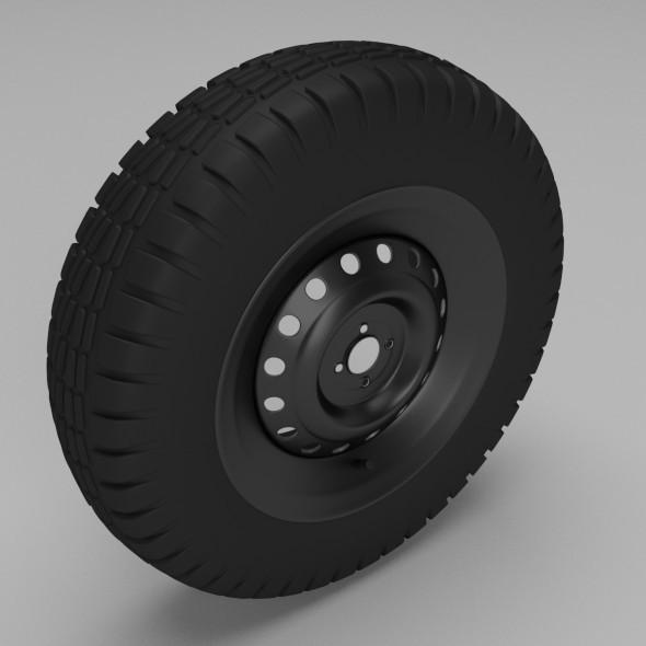 3DOcean Tyre 9814655