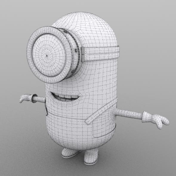 Minion model no texture