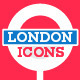 London Landmarks Premium Icons - GraphicRiver Item for Sale