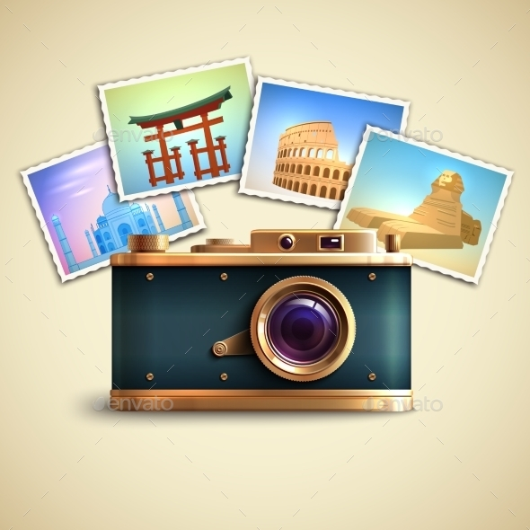 GraphicRiver Travel Photo Background 9815285
