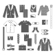 Business Man Clothes Icons Set - GraphicRiver Item for Sale